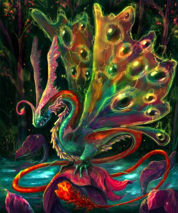 Mystical Fantasy Pictures of Dragons | Mystic dragon by ~bananasjuice on deviantART