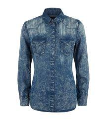 True Religion Georgie Western Denim shirt