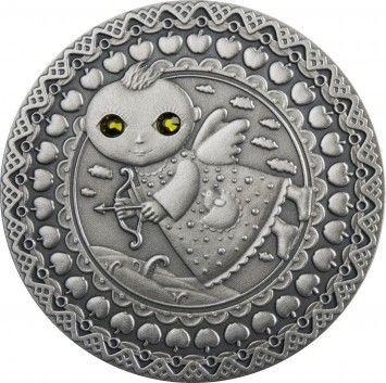 Srebrna Moneta - Strzelec, 20 rubli, Seria: Znaki zodiaku