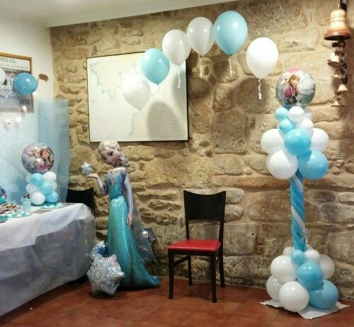 Best 10 decoracion de frozen ideas on pinterest fiesta - Adornos con globos para cumpleanos ...
