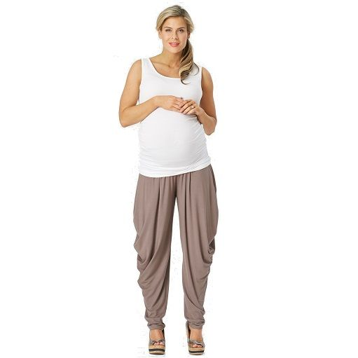 Jersey maternity slouch pants #ohswag #stylishmamas #mamafashion