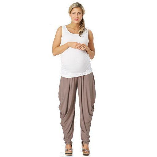 Jersey maternity slouch pants #ohswag #stylishmamas #mamafashion