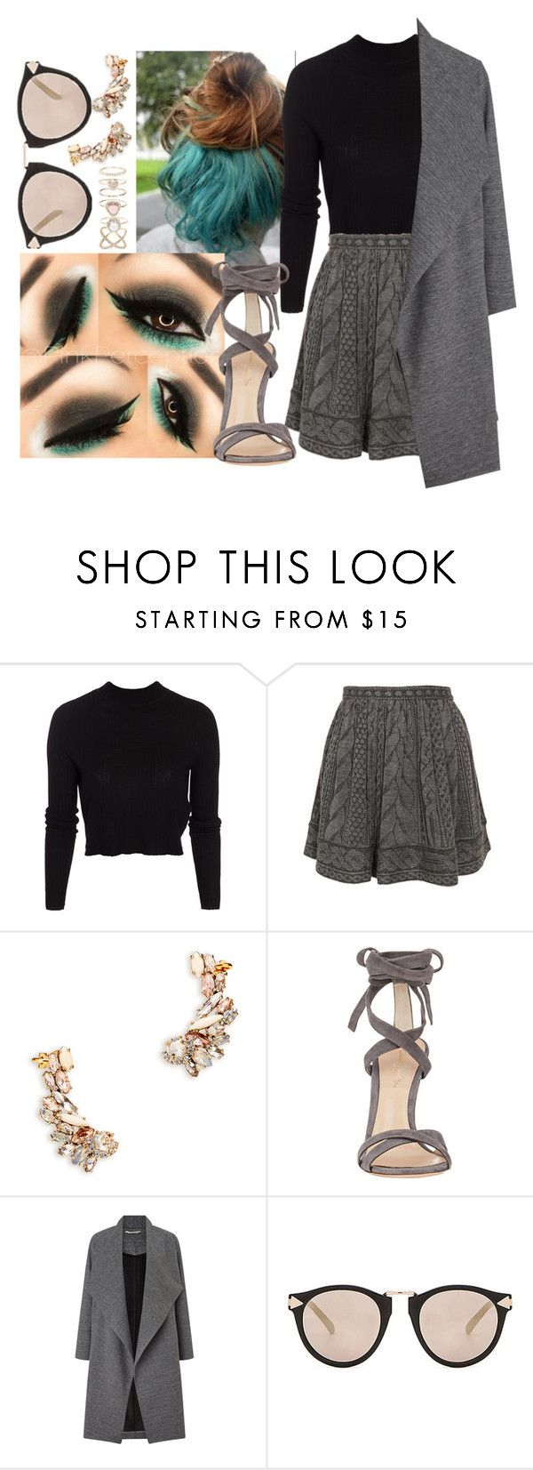 """""""Go to the cinema with friends"""" by lol-girl-fun ❤ liked on Polyvore featuring ONLY, Opening Ceremony, Gianvito Rossi, Miss Selfridge, Karen Walker, Accessorize, to, friends, with and go"""