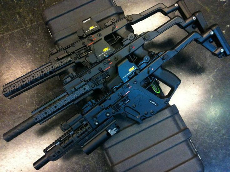 Tactical Kriss Vectors, these thingls look amazing