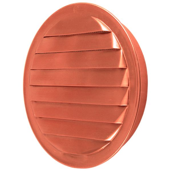 Round Copper Soffit Vent With Screen Available In 1 Quot 1 5