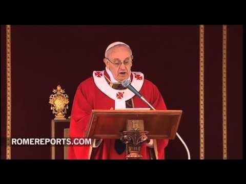 http://www.romereports.com/palio/homilia-del-papa-francisco-de-la-misa-del-domingo-de-ramos-spanish-9549.html#.UVANjBwz0VU Homilía del Papa Francisco de la Misa del Domingo de Ramos