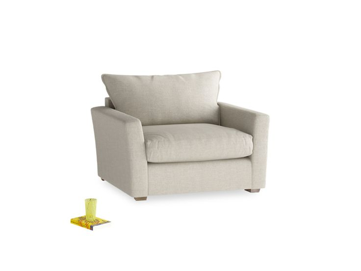 weu0027ve stashed a supersoft mattress inside this deep criminally comfy and modern love seat