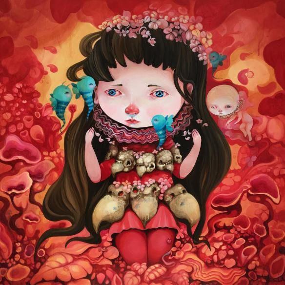 The Strange Worlds of Ivana Flores   Hi-Fructose Magazine