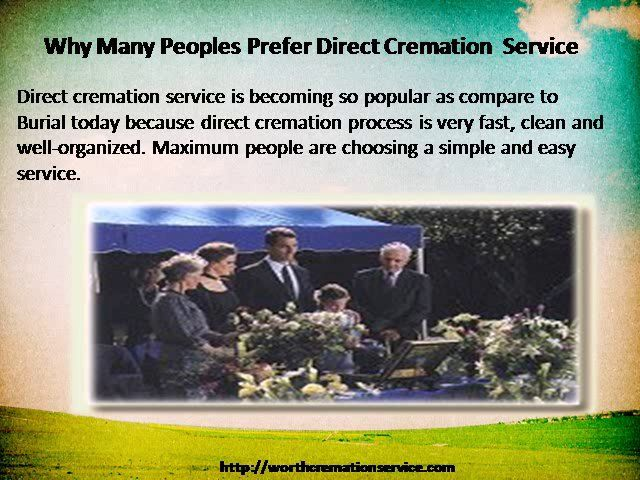 Choose our direct and affordable cremation service in Florida for your loved ones at http://worthcremationservice.com