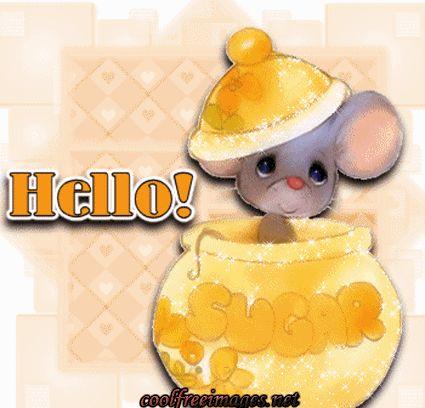 Hello & Hi Myspace Facebook Orkut Graphics Glitters Styles