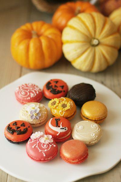 Macarons, Halloween version.