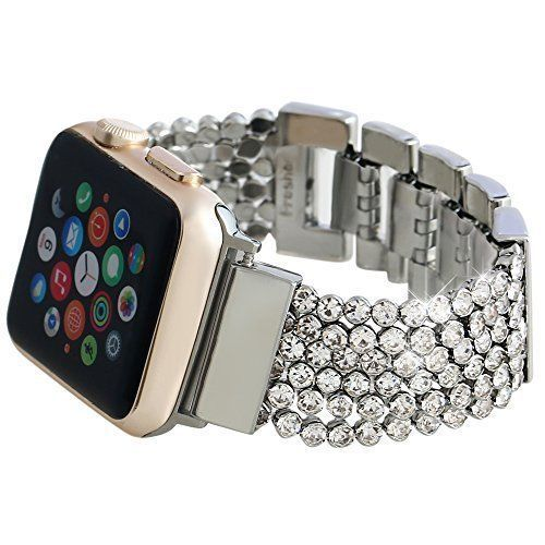 Watch Band for Apple 38mm iWatch Crystal Diamond Loop Strap Bracelet All Models #WatchBand