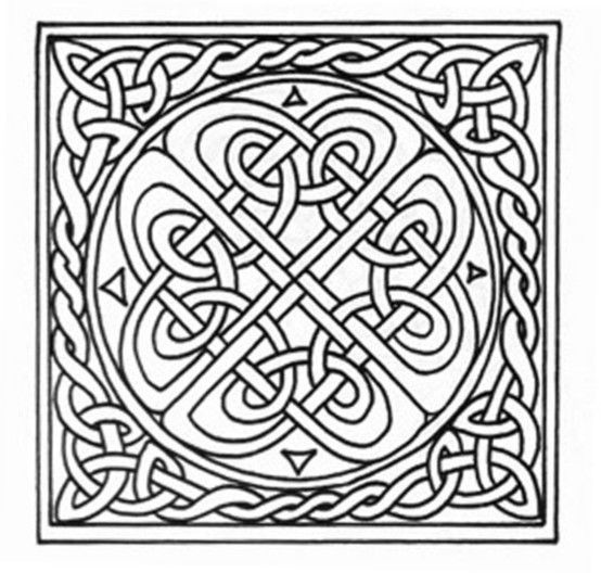 Coloring Page Celtic F C: 89 Best Pyrography Patterns Images On Pinterest