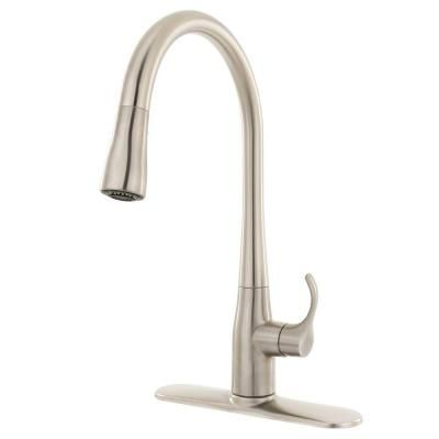 Kohler Stainless Steel Kitchen Faucets : stainless steel