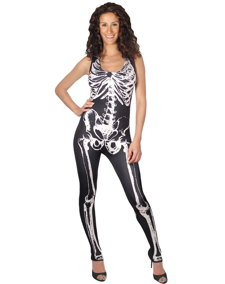 how to create a skeleton costume