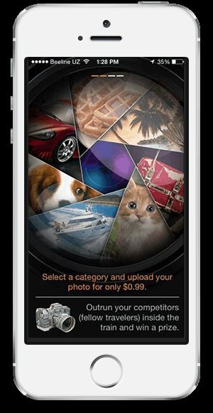 PHOTOTRAIN - For the most popular photo in the expression. #phototrain #photo #userinterface #app #apple #iphone #iOs