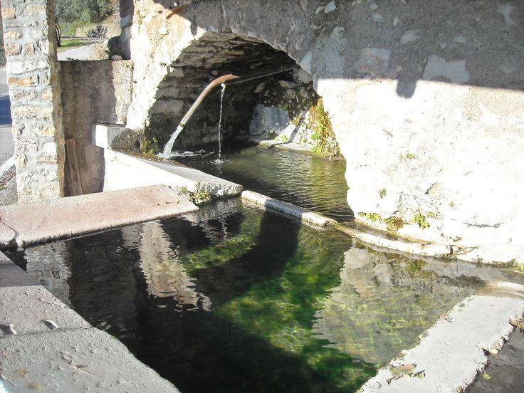 L'antica fontana di Muslone -Gargnano (Brescia)