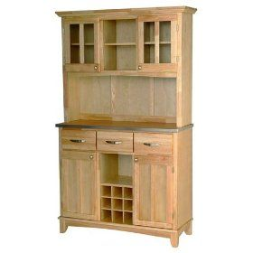 Home Styles 5100-0013-12 Large Wood Server Buffet Table $547.32