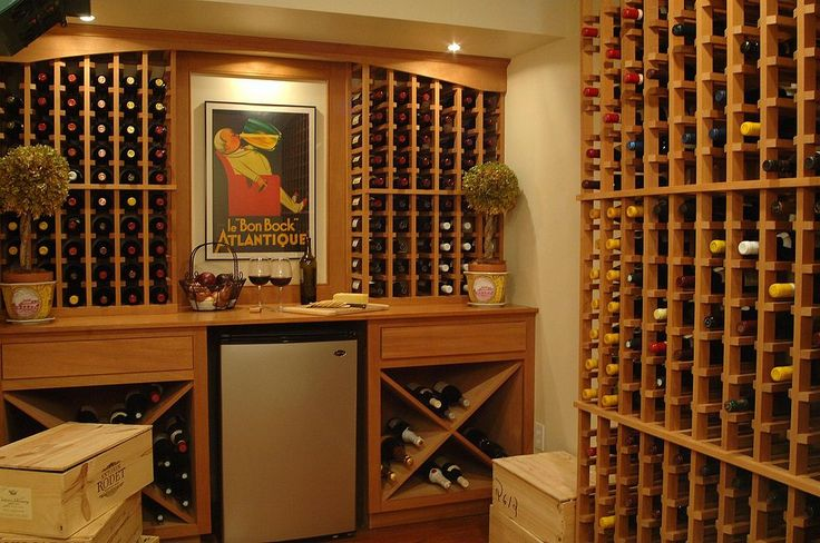 20 Best Images About Basement Wine Storage On Pinterest