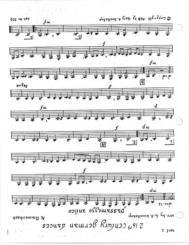 11 best metodo de trombone arban images on pinterest trombone 2 16th century german dances fandeluxe Image collections