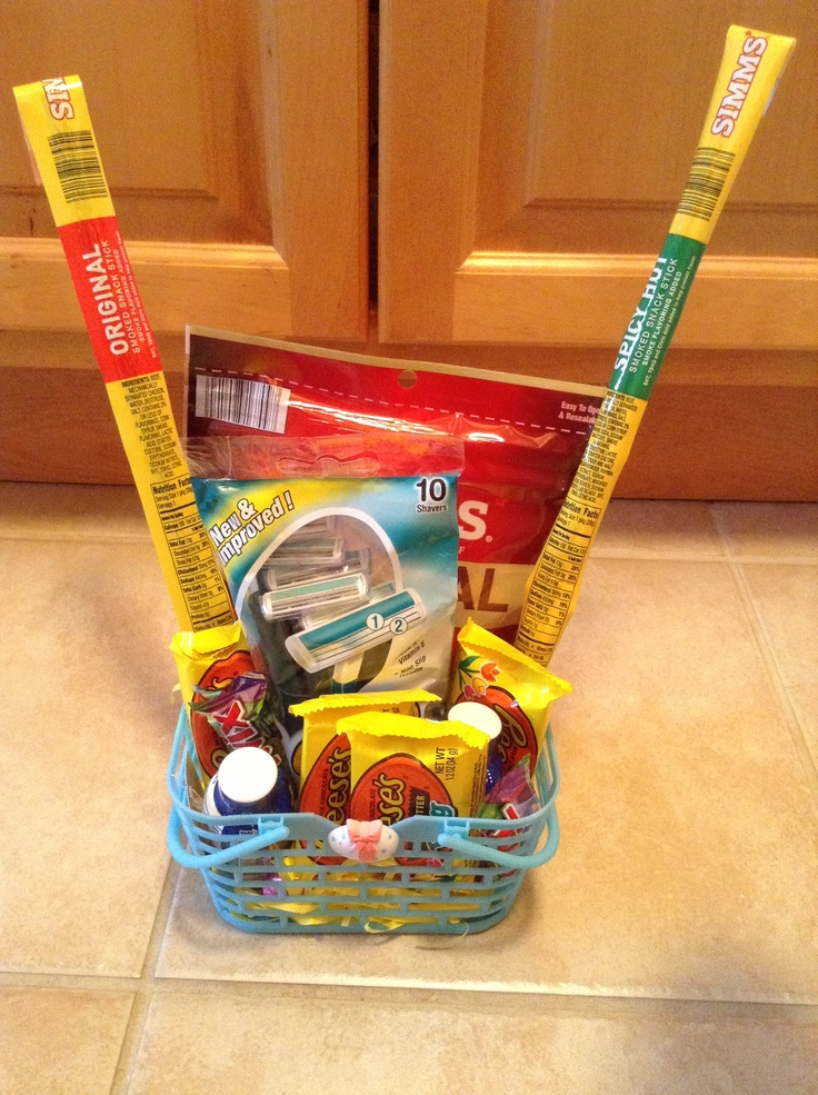 29 best perfect presents images on pinterest gift ideas crafts easter basket for men negle Images