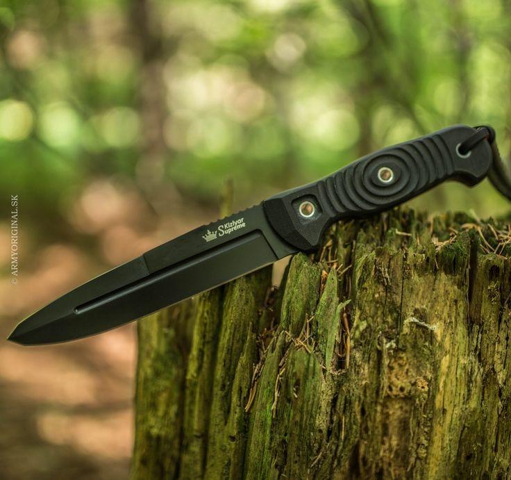 Nôž LEGION D2 čierny, Kizlyar Supreme