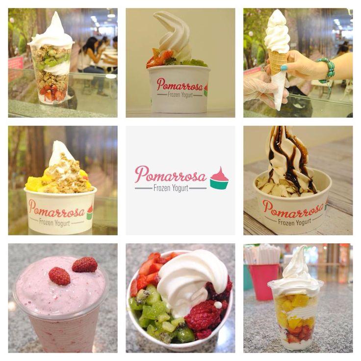 Disfruta de Pomarrosa enla presentación que prefieras #saludable #nutrición #dessert #frozenyogurt