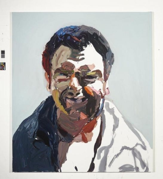 """Ben Quilty - """"The Evo Project No. 3"""" 2011 oil on linen 170x150 cm"""