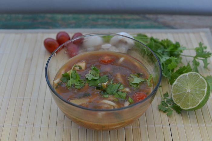 Copycat PF Changs Spicy Chicken Noodle Soup