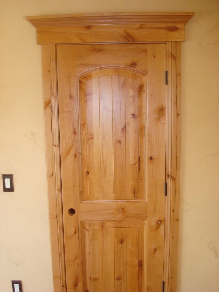Knotty Alder Door For The Home Pinterest Doors