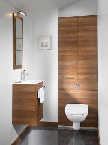 Des rangements discrets et pratiques - Salle de bains : les 15 nouveautés d'Idéo Bain 2013 - CôtéMaison.fr