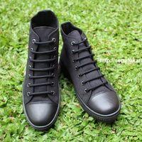 Sepatu Kanvas - Casual Warna Hitam Ciarmy Type SKC-02