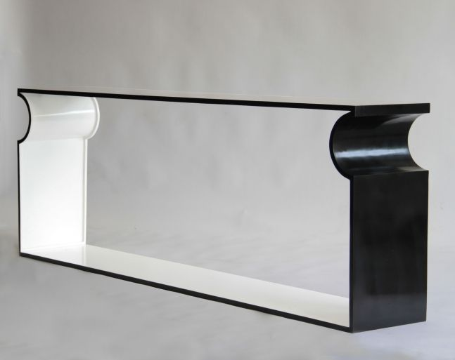 Console White Frame