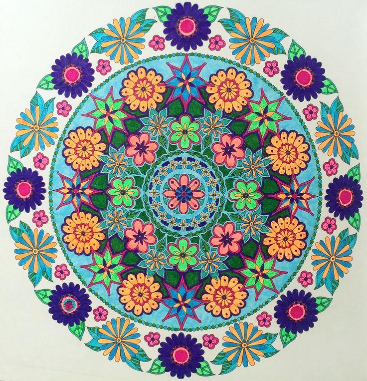 Mandala colorido #design