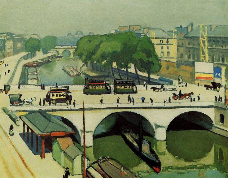 Le Pont St Michel Albert Marquet (27 March 1875 –...