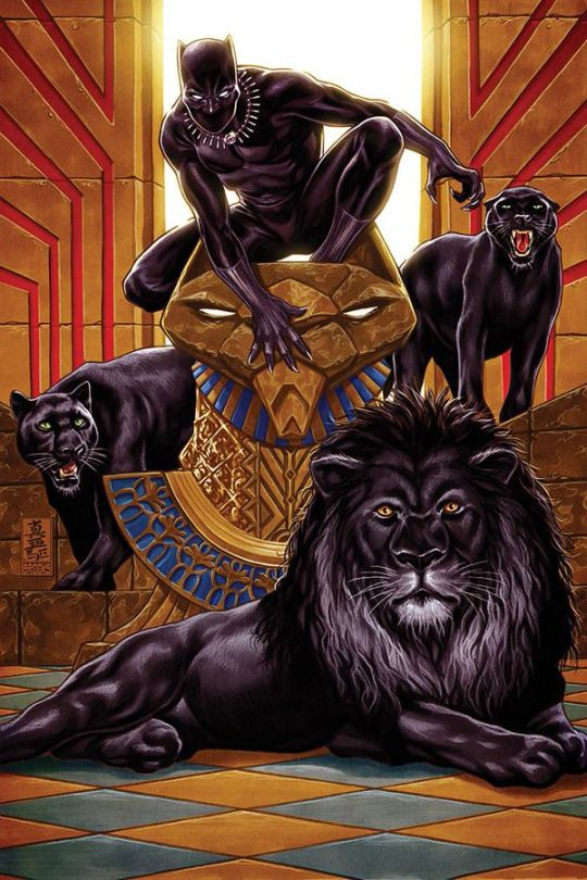 Black Panther by Mark Brooks