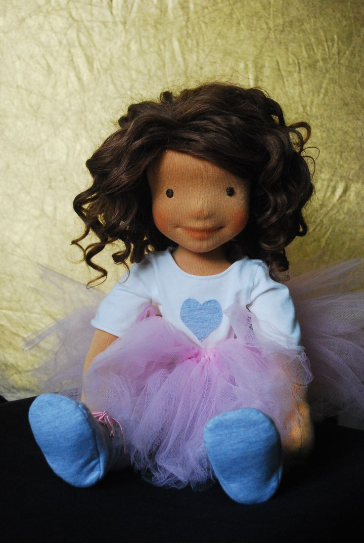 Maya- waldorf inspired doll by DollcraftStudio https://www.etsy.com/shop/DollcraftStudio