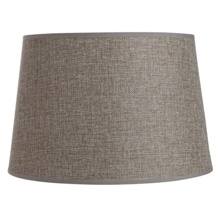 Drum Shade Spice Hessian - Masters Home Improvement