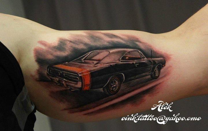 Mopar tattoo