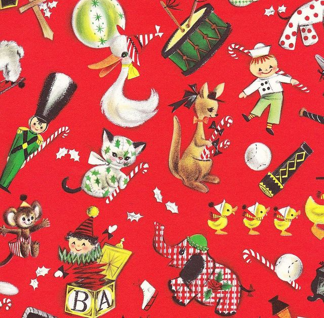 Christmas Toys Cards : Best images about vintage birthday greeting cards on
