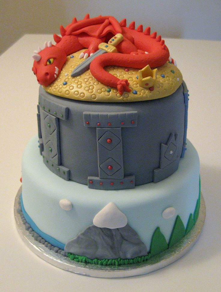 145 Best Hobbit Lord Of The Rings Cakes Images On Pinterest