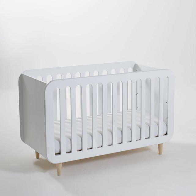 Lit bébé avec sommier réglable, Jimi La Redoute Interieurs