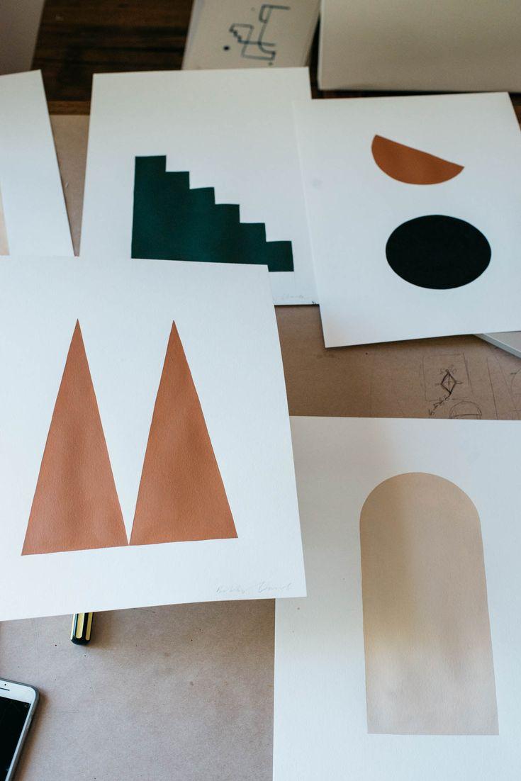 Shape Studies by Bobby Clark @bobbyclark____