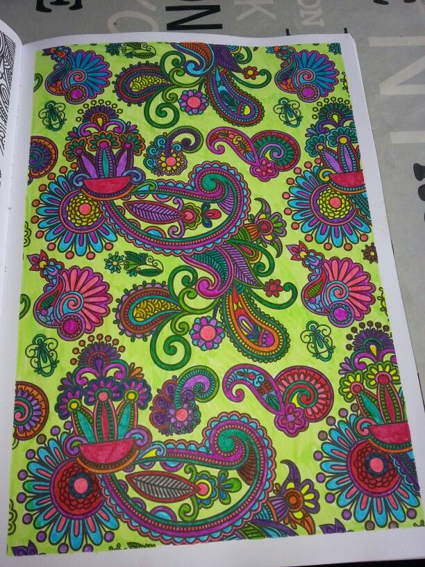 coloriage anti stress modele