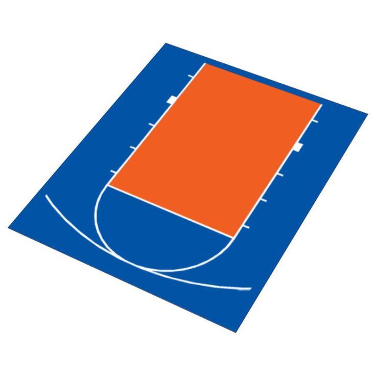 DuraPlay Half Court Basketball Kit | Overstock.com Shopping - The Best Deals on Basketball