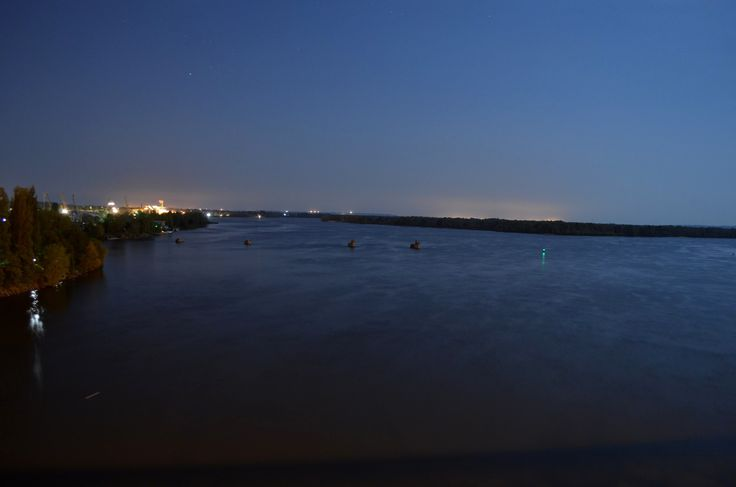 Фото с моста - 2015 год. Ночь.