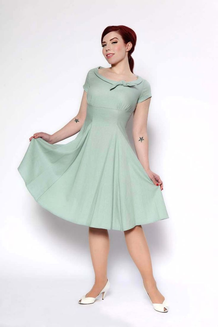 82 best dress up dresses green images on pinterest vintage retro glam heartbreaker beverly dress in dusty mint lynette ombrellifo Image collections