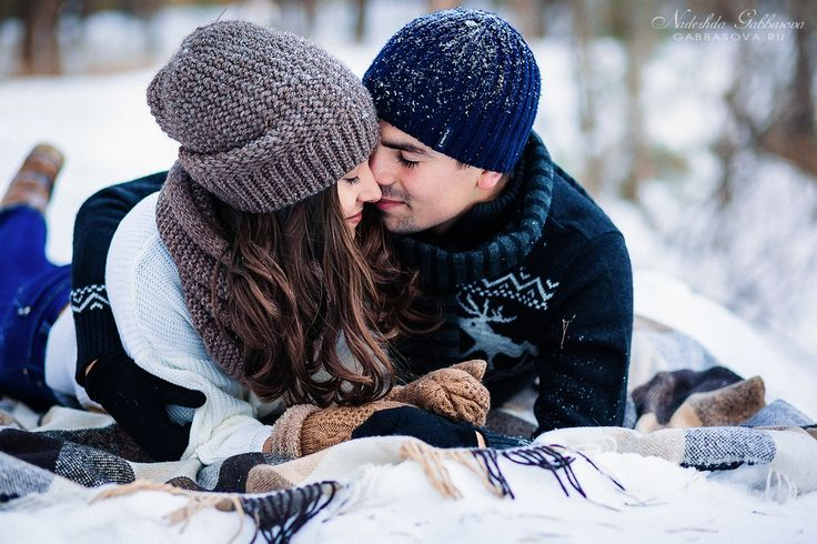 Love story winter photo Фотограф Надежда Габбасова www.gabbasova.ru