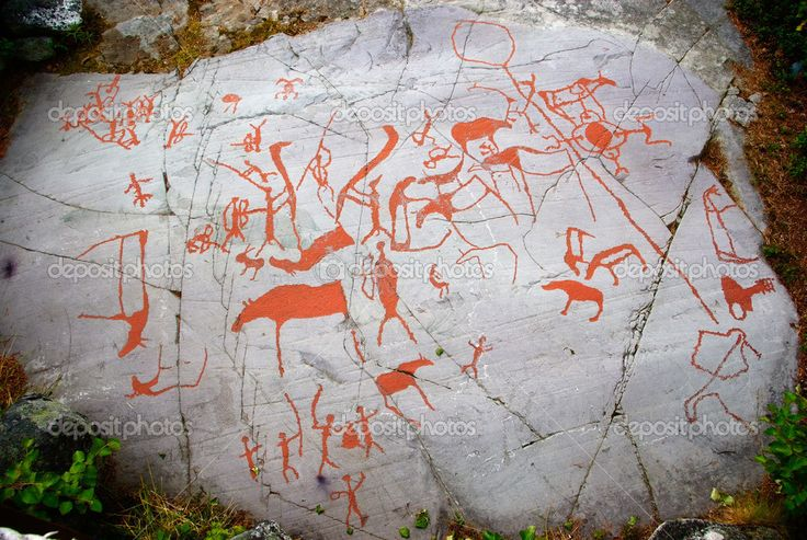 Ancient rock carving in alta norway archaeology