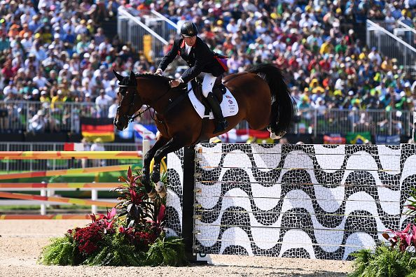 Nick Skelton, Team GB's oldest competitor wins gold in the equestrian individual jumping at Rio 2016